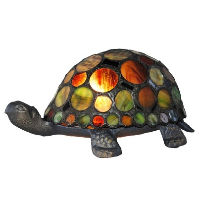 11305 Tiffany Style Turtle Lamp from Flowers, Etc. in Newington, CT