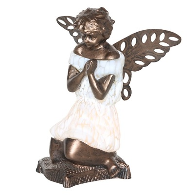 12641 Tiffany style praying angel lamp from Flowers, Etc. in Newington, CT