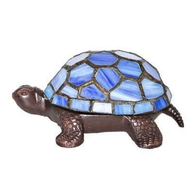 13471 Tiffany style led turtle lamp from Flowers, Etc. in Newington, CT