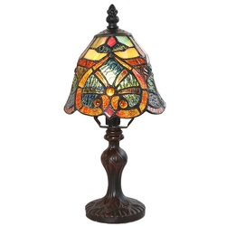 15740 Cathedral Tiffany Style Lamp