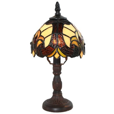 15740 Halston Tiffany Style Lamp from Flowers, Etc. in Newington, CT