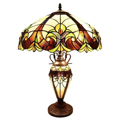 6332 Tiffany Style Halston Table Lamp from Flowers, Etc. in Newington, CT
