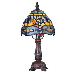 9159 Dragon Fly Tiffany Style Lamp from Flowers, Etc. in Newington, CT