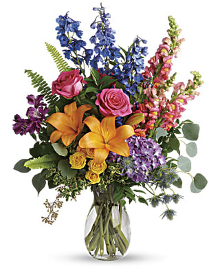 Colors of the Rainbow Bouquet from Flowers, Etc. in Newington, CT