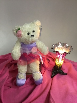 Flowers Etc Beary Ballerina Nite Light from Flowers, Etc. in Newington, CT