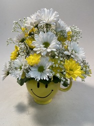 Flowers Etc Be Happy Mug