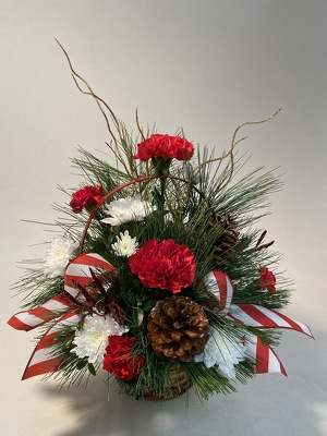 Flowers Etc Merry & Bright Basket from Flowers, Etc. in Newington, CT