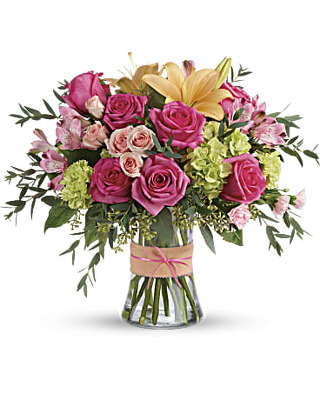 Blush Life Bouquet from Flowers, Etc. in Newington, CT