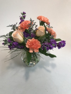 Flowers Etc Peach & Lavender Dream from Flowers, Etc. in Newington, CT