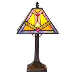 South Western Sunrise Tiffany Style Accent Lamp from Flowers, Etc. in Newington, CT