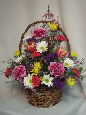 Flowers Etc Basket of Beauty from Flowers, Etc. in Newington, CT