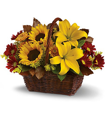 Golden Days Basket from Flowers, Etc. in Newington, CT