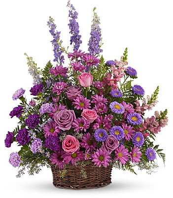 Gracious Lavender Basket from Flowers, Etc. in Newington, CT