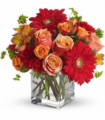 Santa Fe Sunset Bouquet by Teleflora from Flowers, Etc. in Newington, CT
