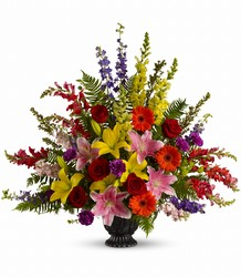 Walk in Rainbows by Teleflora from Flowers, Etc. in Newington, CT