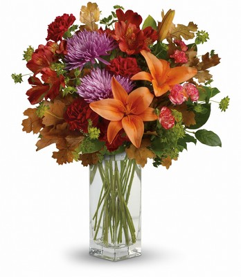 Teleflora's Fall Brights Bouquet from Flowers, Etc. in Newington, CT