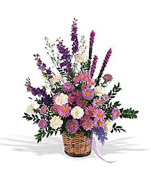 Lavender Reminder Basket from Flowers, Etc. in Newington, CT