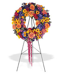 Celebration Wreath from Flowers, Etc. in Newington, CT