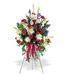 Patriotic Spirit Spray from Flowers, Etc. in Newington, CT