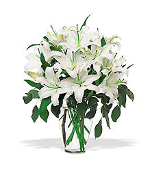Perfect White Lilies from Flowers, Etc. in Newington, CT