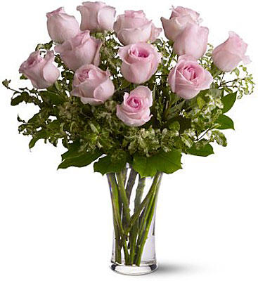 A Dozen Pink Roses from Flowers, Etc. in Newington, CT